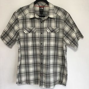 The North Face Plaid Short Sleeve Buttondown Shirt